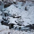 Sheep's Waterfall bei Selvallavatn